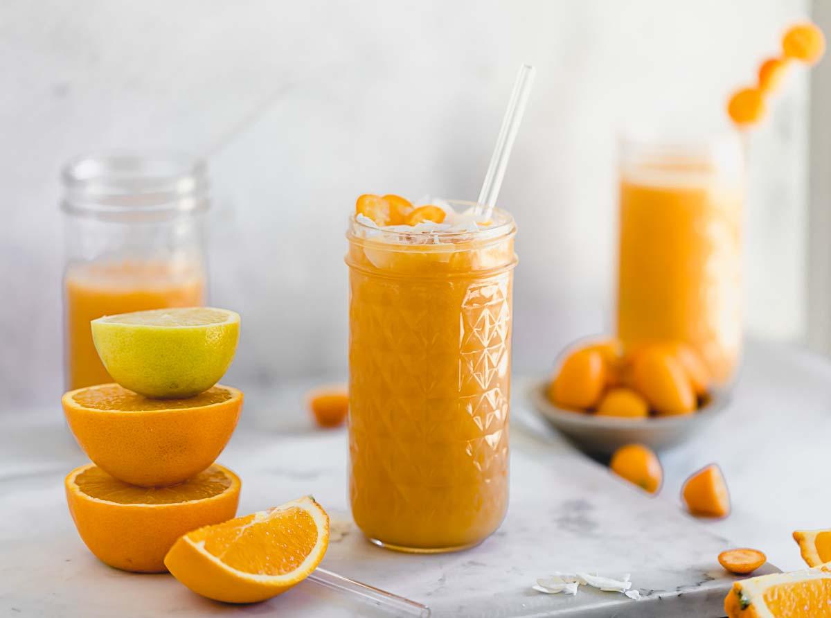 Orangen-Karottensmoothie