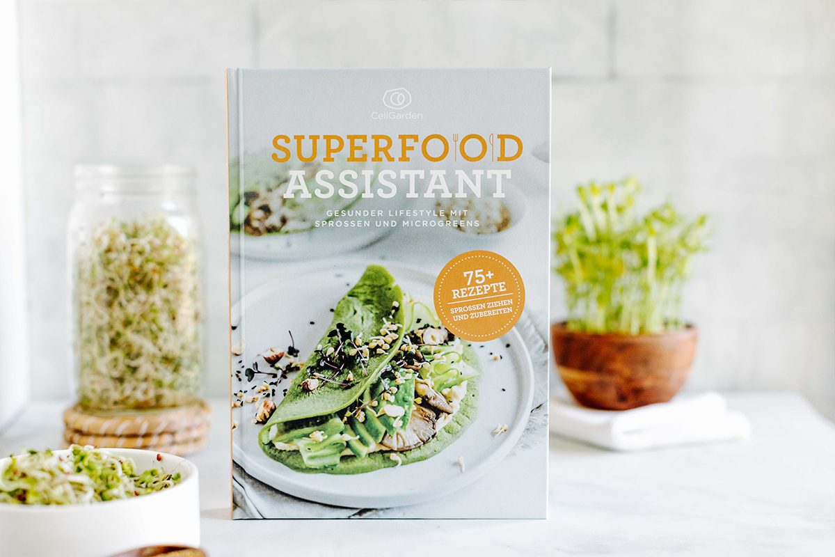 Sprossen Kochbuch Superfood Assistant