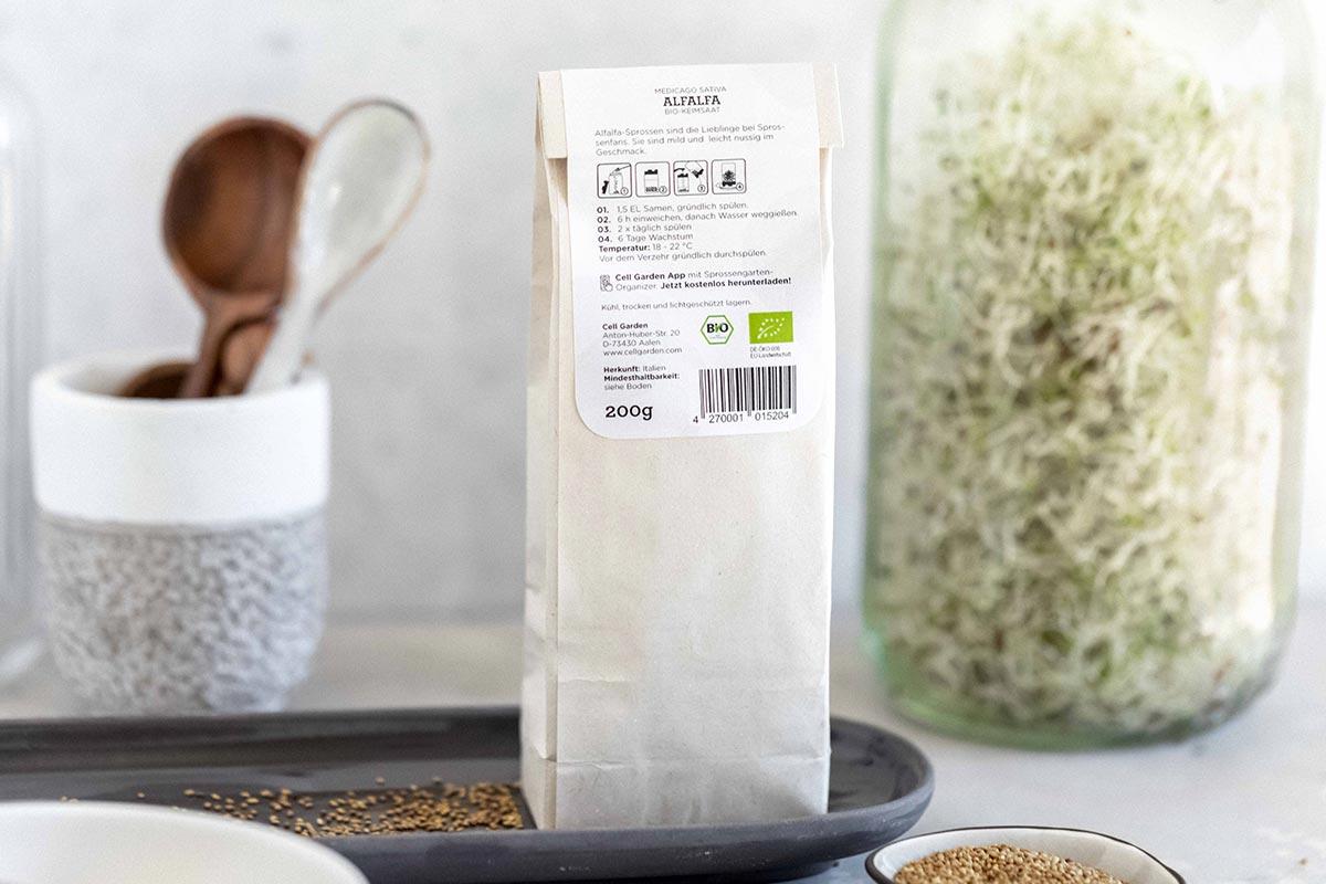 Bio-Keimsaat Alfalfa | 200 g