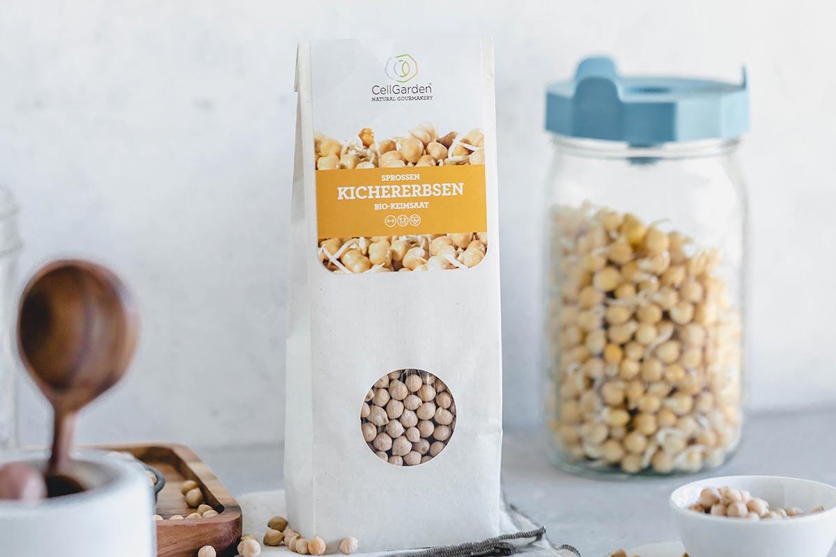 Bio-Keimsaat Kichererbsen | 500 g
